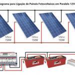 Bateria estacionária solar